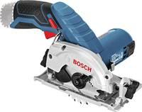 Bosch Professional GKS 12V-26 + L-Boxx Clic&go Akkus kézi körfűrész 85 mm Hordtáskával, Akku nélkül 12 V Bosch Professional