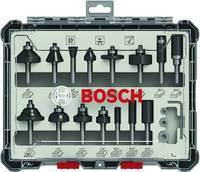 Marómaró készlet, 1/4 hüvelykes szár, 15 darab Bosch Accessories 2607017473 Bosch Accessories
