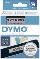 Feliratozó szalag DYMO D1 2084401 Szalagszín: Ezüst Szövegszín:Fekete 12 mm 3 m DYMO