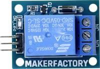 MAKERFACTORY MF-6402384 Relé modul 1 db Alkalmas: Arduino MAKERFACTORY