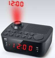 Kivetítős rádiós ébresztőóra, fekete, New One CR 138 new one