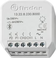 13.22.8.230.B000 Finder YESLY 2 csatornás Kapcsoló működtető Szürke Finder