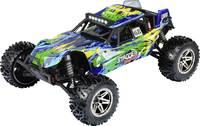 Reely Stagger Brushless 1:10 RC modellautó Elektro Buggy 4WD 100% RtR 2,4 GHz Akkuval, töltőkészülékkel és adóakkukkal, Reely