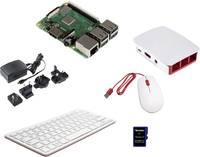 Raspberry Pi® 3 B+ Desktop Kit 1 GB 4 x 1.4 GHz Billentyűzettel, Egérrel, Noobs OS-sel, Tápegységgel, Házzal, HDMI™ kábe Raspberry Pi®