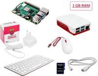 #####Raspberry Pi® 4 B Desktop Kit 1 GB 4 x 1.5 GHz Billentyűzettel, Egérrel, Noobs OS-sel, Tápegységgel, Házzal, HDMI k Raspberry Pi®