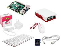 Raspberry Pi® 4 B Desktop Kit 4 GB 4 x 1.5 GHz Billentyűzettel, Egérrel, Noobs OS-sel, Tápegységgel, Házzal, HDMI™ kábel Raspberry Pi®