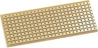 Kemo E015 Kísérletező panel Flash-gold Keménypapír (H x Sz) 64 mm x 25 mm 35 µm Raszterméret 2.54 mm Tartalom 1 db Kemo