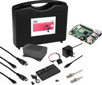 Raspberry Pi® 4 B Streaming Set 4 GB 4 x 1.5 GHz Tárolótáskával, Házzal, Tápegységgel, Hűtőbordával, HDMI™ kábellel, Noo MAKERFACTORY