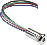 Mentor LED-es jelzőlámpa RGB 2 V, 3.5 V, 3.5 V 20 mA, 20 mA, 20 mA Mentor