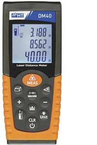 HT Instruments DM40 Lézeres távolságmérő Kalibrált (ISO) Mérési tartomány (max.) 40 m HT Instruments