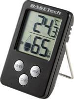 Hőmérséklet- és légnedvesség mérő, fekete, Basetech Basetech
