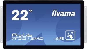 """Iiyama ProLite TF2215MC Érintőképernyős monitor 54.6 cm (21.5 """") EEK: A (A+++ - D) 1920 x 1080 pixel 16:9 14 ms VGA, HDM Iiyama"""