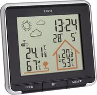 TFA Dostmann LIFE 35.1153.01 Vezeték nélküli időjárásjelző állomás Előrejelzés 12 - 24 órás TFA Dostmann