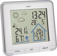 TFA Dostmann Funk-Wetterstation LIFE 35.1153.02 Vezeték nélküli időjárásjelző állomás Előrejelzés 12 - 24 órás TFA Dostmann