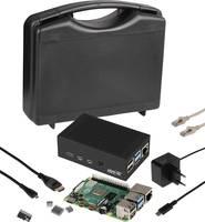 Raspberry Pi® 4 B Advanced Set 4 GB 4 x 1.5 GHz Tápegységgel, Hűtőbordával, HDMI™ kábellel, Noobs OS-sel Joy-it Joy-it