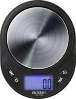 Zsebmérleg max. 750 g, felbontás 0,1 g, fekete, Voltcraft PS-750 VOLTCRAFT