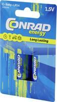 Alkáli babyelem LR14 7500 mAh 1.5 V 2 db, Conrad energy Conrad energy