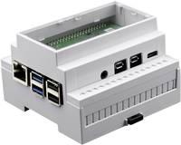 Axxatronic CBRPI-DR-4-CLR-CON SBC ház Alkalmas: Raspberry Pi Profilsínre szereléshez Fehér Axxatronic