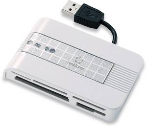 Renkforce CR22e-SIM Külső memóriakártya olvasó USB 2.0 Ezüst Renkforce