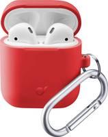 Cellularline BOUNCEAIRPODSR Fejhallgató táska Alkalmas:In-Ear fülhallgató Piros Cellularline