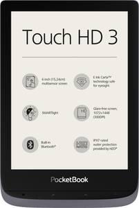 PocketBook Touch HD 3 metallic grey E-könyv olvasó 15.2 cm (6 coll) Szürke-metál PocketBook