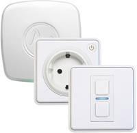 Lightwave Kezdő készlet, megvilágítás L21412TFWH Fehér Apple HomeKit, Alexa (külön bázisállomás szükséges), Google Home Lightwave
