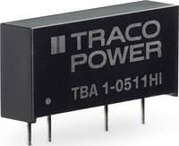 TracoPower TBA 1HI DC/DC feszültségváltó, nyák 66 mA 1 W Kimenetek száma: 1 x TracoPower