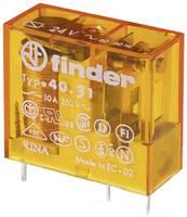 Finder 40.31.8.024.0000 Nyák relé 24 V/AC 10 A 1 váltó 1 db Finder