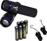 Heitech Zoom-Light LED Kézilámpa Elemekről üzemeltetett 60 lm 67 g Heitech
