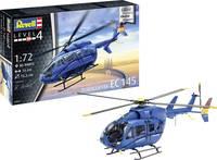 Revell 03877 EC 145 Builder's Choice Helikopter építőkészlet 1:72 Revell