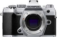 Olympus E-M5 Mark III Rendszer-fényképezőgép 20.4 Megapixel Ezüst 4k videó, Fagyálló, Fröccsenő víz ellen védett, Porv Olympus