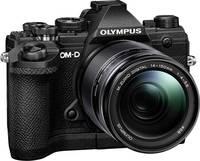 Olympus E-M5 Mark III 14-150 Kit Rendszer-fényképezőgép M 14-150 mm 20.4 Megapixel Fekete 4k videó, Fagyálló, Fröccsenő Olympus