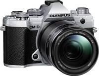 Olympus E-M5 Mark III 14-150 Kit Rendszer-fényképezőgép M 14-150 mm 20.4 Megapixel Ezüst, Fekete 4k videó, Fagyálló, Fr Olympus