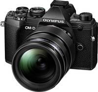 Olympus E-M5 Mark III 1240 Kit Rendszer-fényképezőgép M 12-40 mm 20.4 Megapixel Ezüst, Fekete 4k videó, Fagyálló, Fröcc Olympus