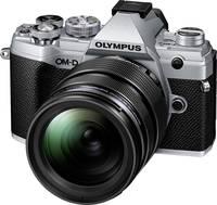 Olympus E-M5 Mark III 1240 Kit Rendszer-fényképezőgép M 12-40 mm 20.4 Megapixel Ezüst 4k videó, Fagyálló, Fröccsenő víz Olympus