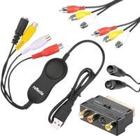 Videó digitalizáló videószerkesztő szoftverrel Reflecta Video Capture Set USB Reflecta