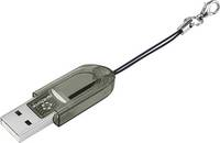 Renkforce CR14e Mini Külső memóriakártya olvasó USB 2.0 Fekete Renkforce