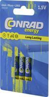 Mikroelem Alkáli mangán Conrad energy LR03 1 Conrad energy