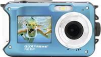 GoXtreme Reef Blue Digitális kamera 24 Megapixel Kék Full HD video, Vízálló 3 méterig, Víz alatti kamera, Ütésálló, be GoXtreme