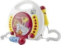 X4 Tech Gyermek CD lejátszó CD, SD, USB Mikrofonnal, Karaoke funkcióval X4 Tech
