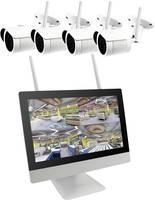B & S Technology BS WIFI DIY KIT WLAN IP-Megfigyelő kamera készlet 4 csatornás 4 db kamerával 1920 x 1080 pixel B & S Technology