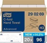 TORK 290269 Papír kéztörlők Fehér 20 db/csom. 20 db TORK
