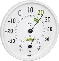 TFA Dostmann Hőmérséklet- és légnedvesség mérő Fehér TFA Dostmann
