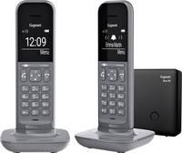 Gigaset CL390A DECT/GAP Vezetékes telefon, analóg Üzenetrögzítős, Bébiszitter, Kihangosító, Hallókészülékkel kompatibil Gigaset