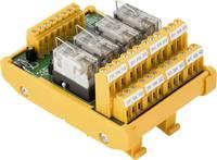 Weidmüller relé panel Kijelzővel, LED 1 db RSM-4 12V- 1CO S 12 V/DC Weidmüller