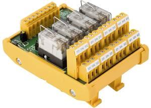 Weidmüller relé panel Kijelzővel, LED 1 db RSM-4 24V+ BASE S 24 V/DC Weidmüller