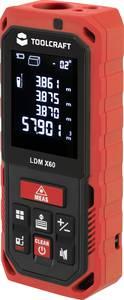 Lézeres távolságmérő max. 60 m, Toolcraft 2247981 TOOLCRAFT