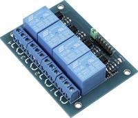 4-es relé modul (érintkező terhelés 12 V / 250 V) TRU COMPONENTS