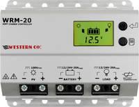 Western Co. WRM20 Napelem töltésszabályozó MPPT 12 V, 24 V 20 A Western Co.