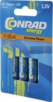 Ceruzaelem Alkáli mangán Conrad energy Extreme Power LR06 1.5 V 4 db Conrad energy